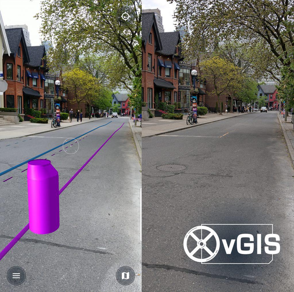 Esri AR GIS Augmented Reality ArcGIS Bentley iModelHub Microstation MR Mixed Reality HoloLens HoloLens2 2 3
