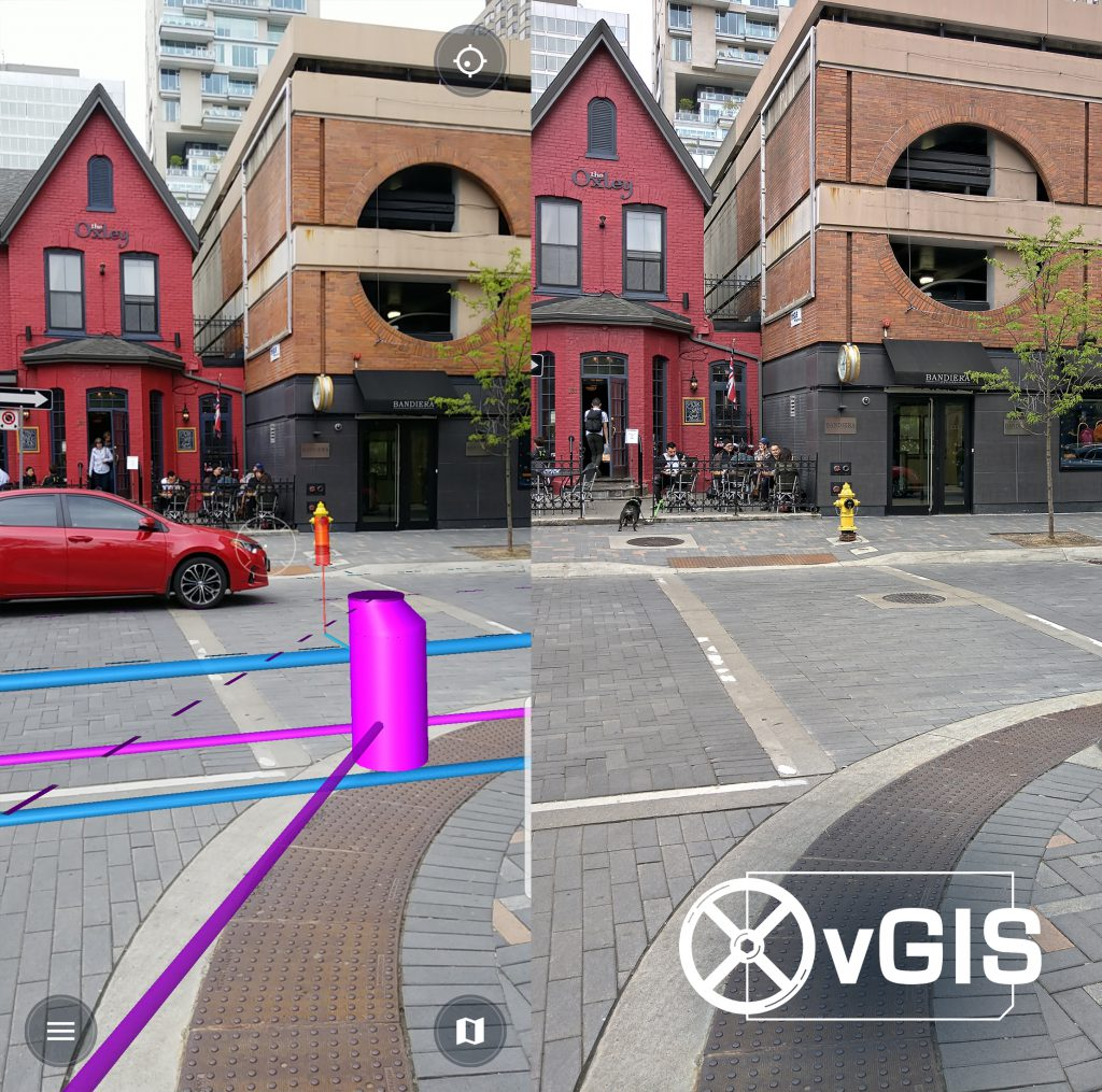 Media library: AR Augmented Reality for Esri GIS and Bentley
