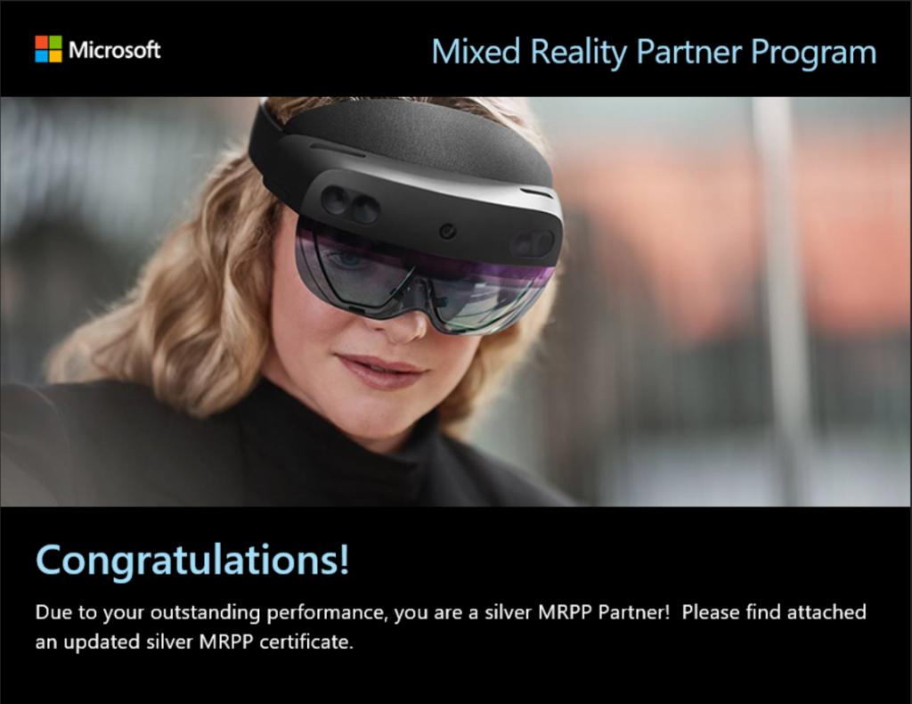 Microsoft MRPP Silver Partner - vGIS Inc.